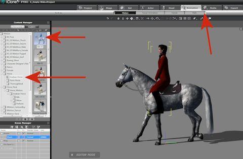 Making Bill Ride – 3D Movie Maker